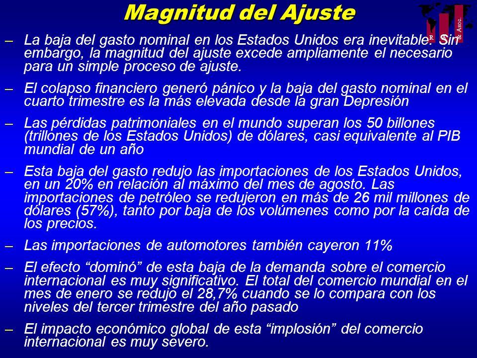Magnitud del Ajuste
