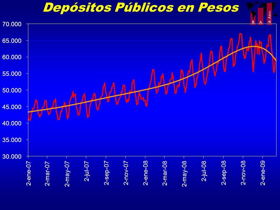 Depósitos Públicos en Pesos