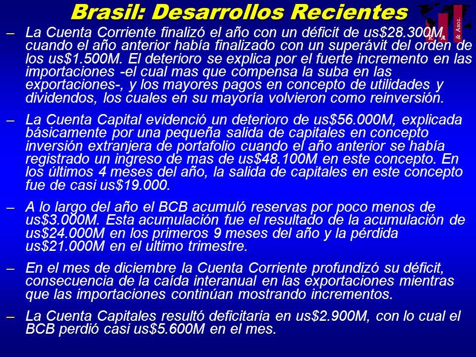 Brasil: Desarrollos Recientes