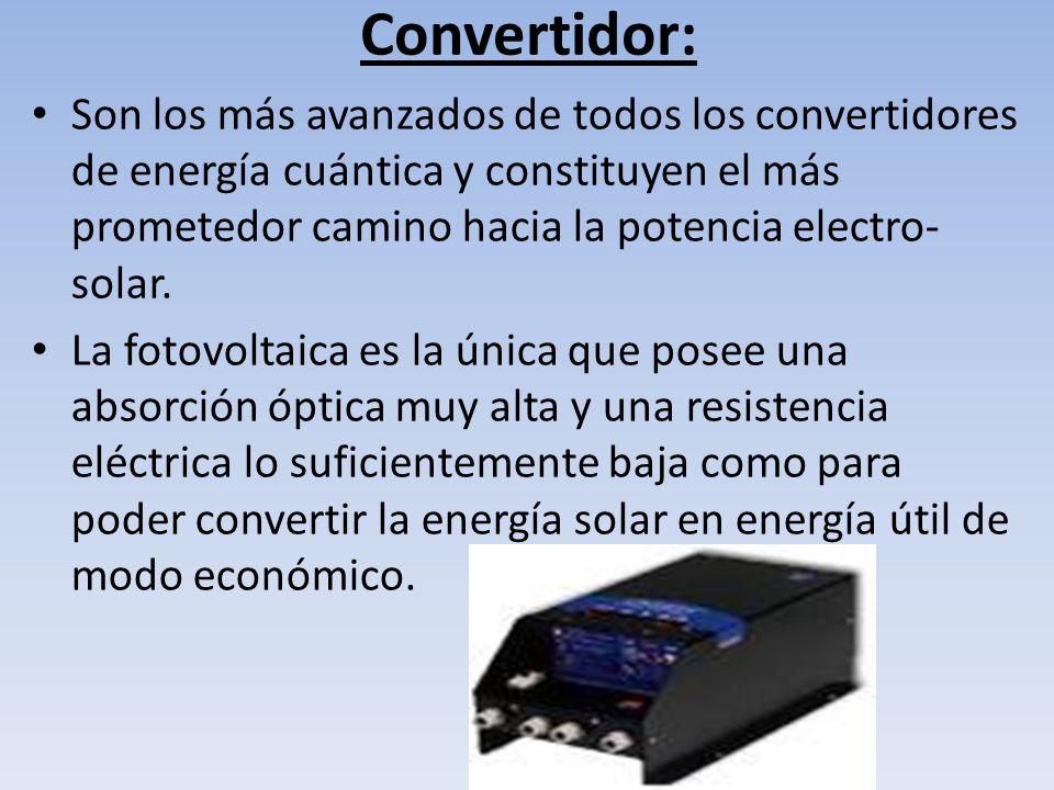 Convertidor: