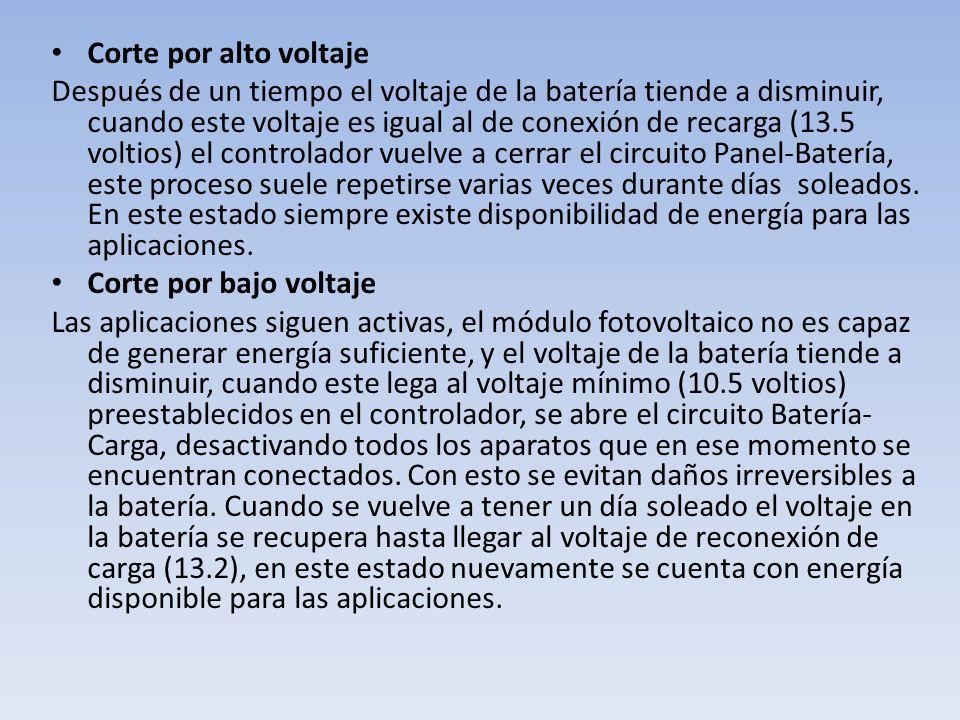 Corte por alto voltaje