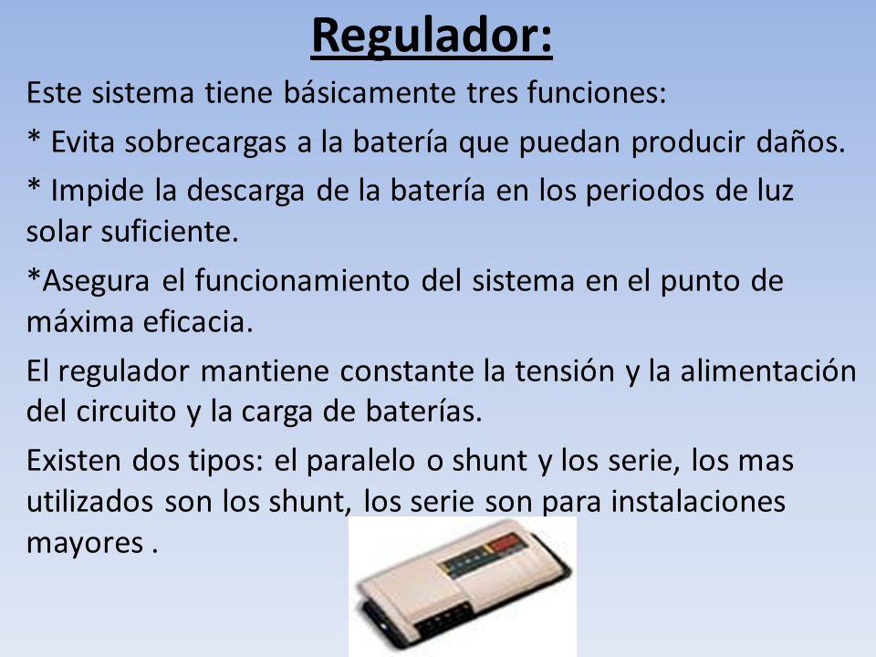 Regulador: