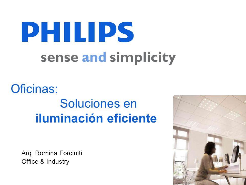 Oficinas: Soluciones en iluminación eficiente