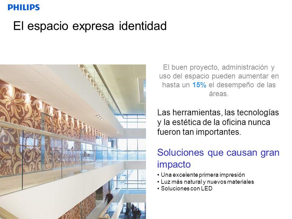 El espacio expresa identidad