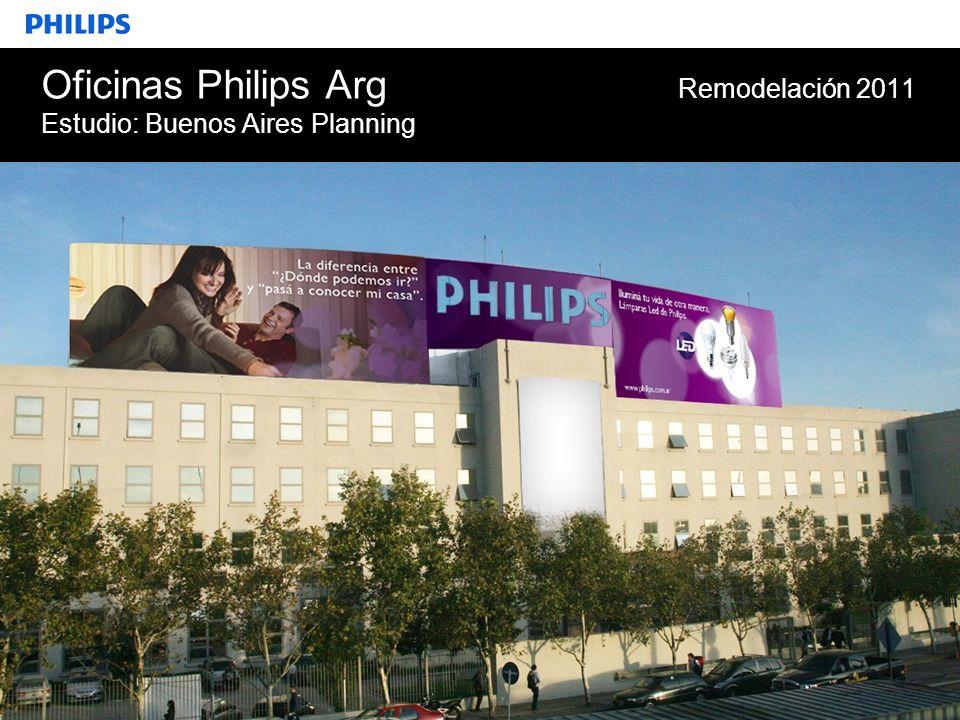 Oficinas Philips Arg Remodelación 2011 Estudio: Buenos Aires Planning