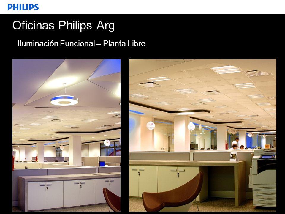 Oficinas Philips Arg Iluminación Funcional – Planta Libre