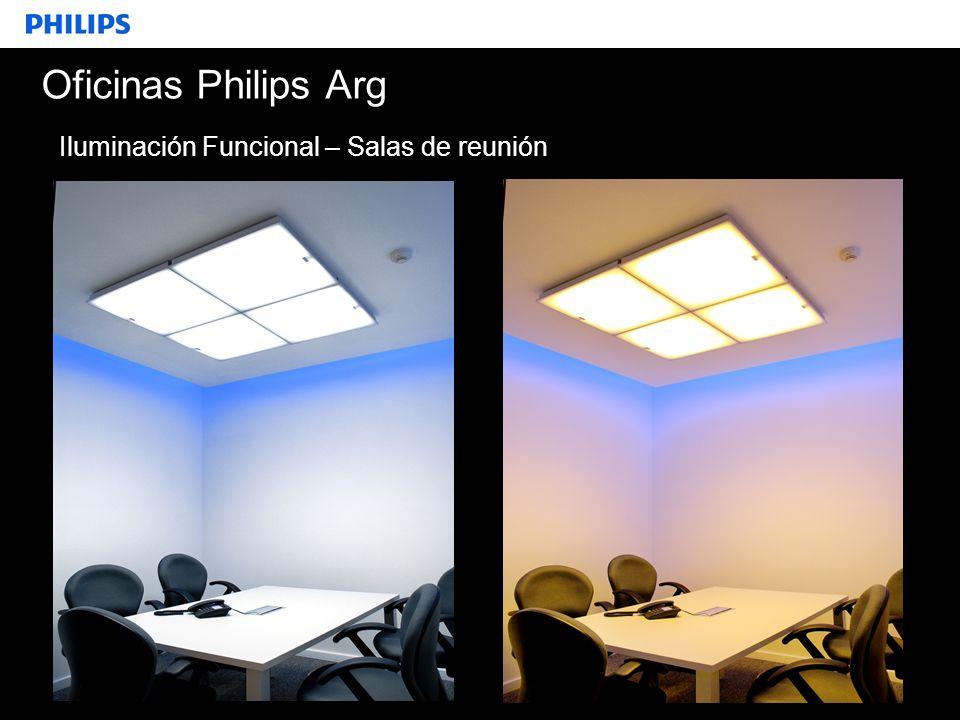 Oficinas Philips Arg Iluminación Funcional – Salas de reunión