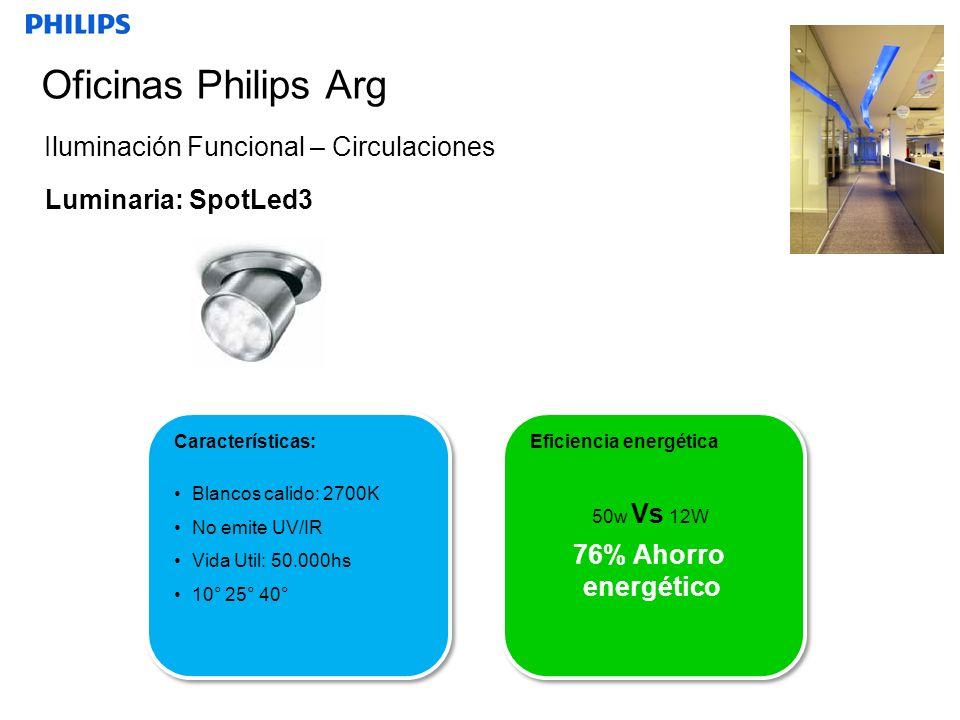 Oficinas Philips Arg Iluminación Funcional – Circulaciones