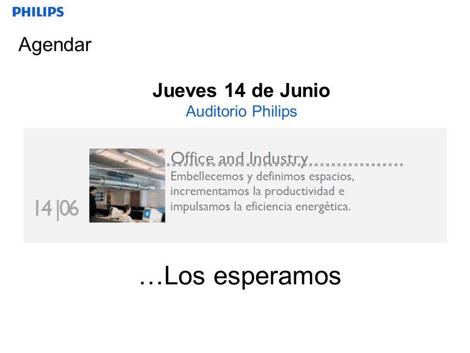 Jueves 14 de Junio Auditorio Philips