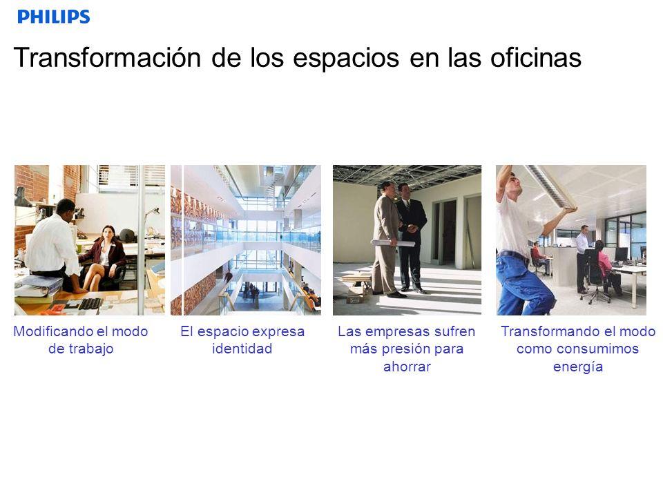 Transformación de los espacios en las oficinas