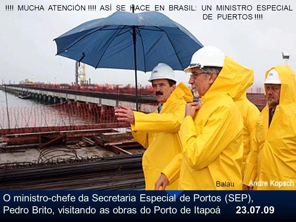 O ministro-chefe da Secretaria Especial de Portos (SEP),