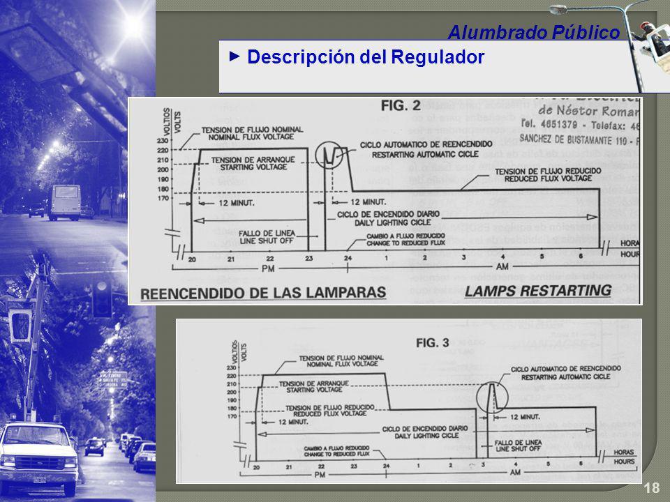 Alumbrado Público Descripción del Regulador