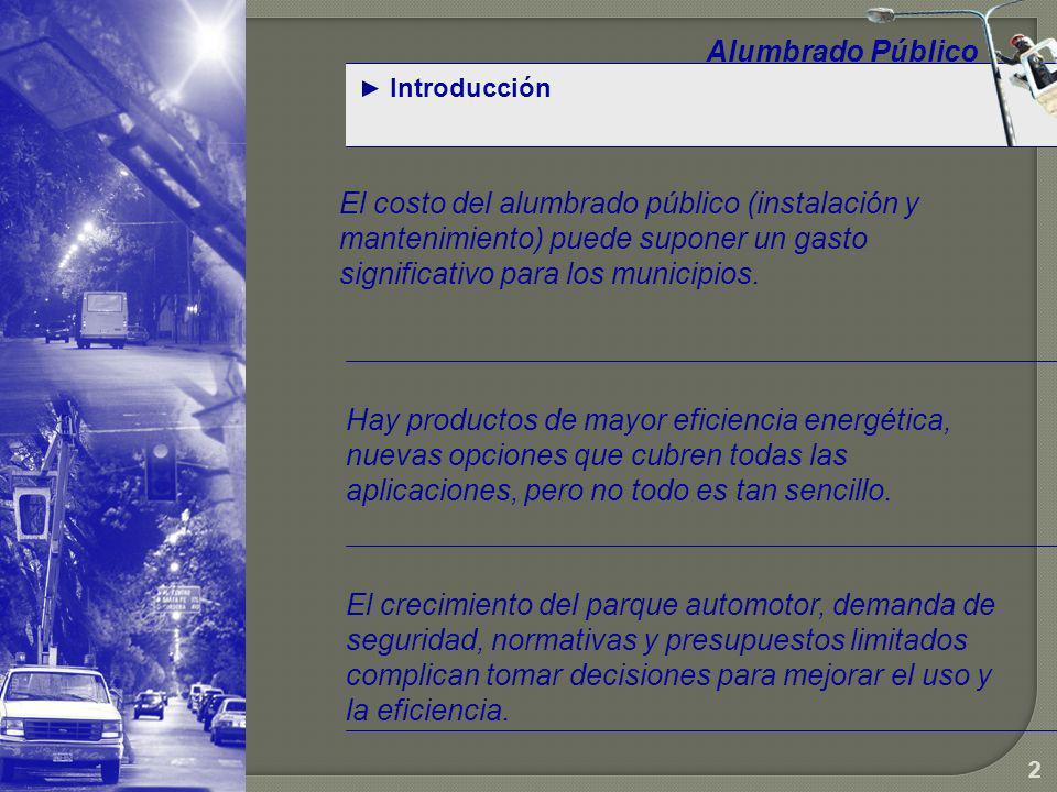 Alumbrado Público Introducción.