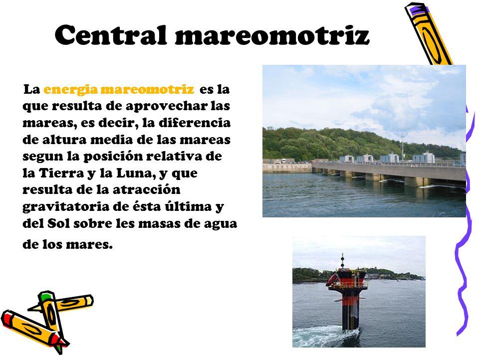 Central mareomotriz