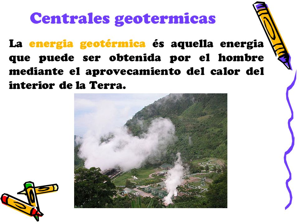 Centrales geotermicas