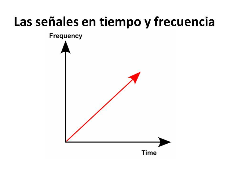 Las señales en tiempo y frecuencia