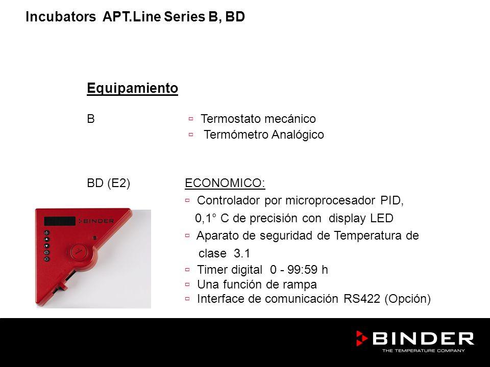 Incubators APT.Line Series B, BD