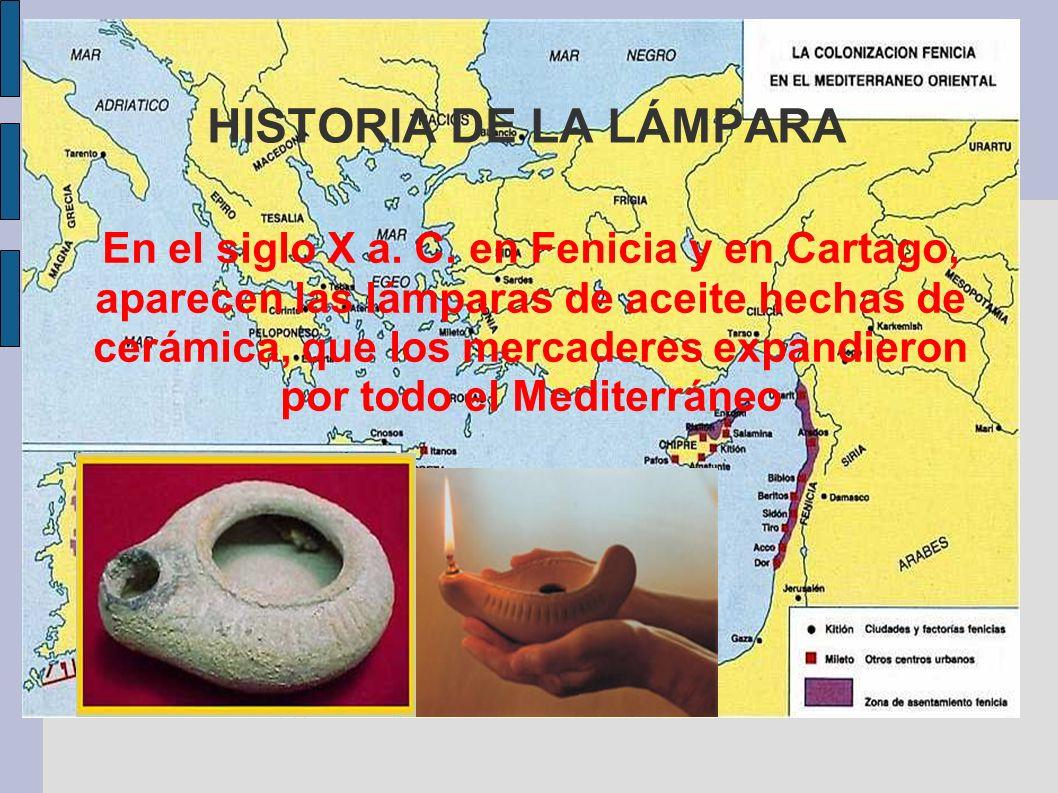 HISTORIA DE LA LÁMPARA