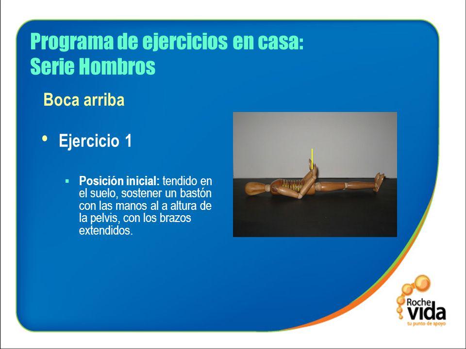 Programa de ejercicios en casa: Serie Hombros