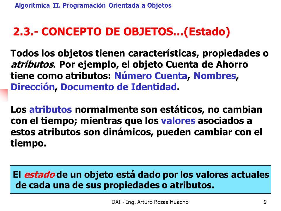 2.3.- CONCEPTO DE OBJETOS…(Estado)