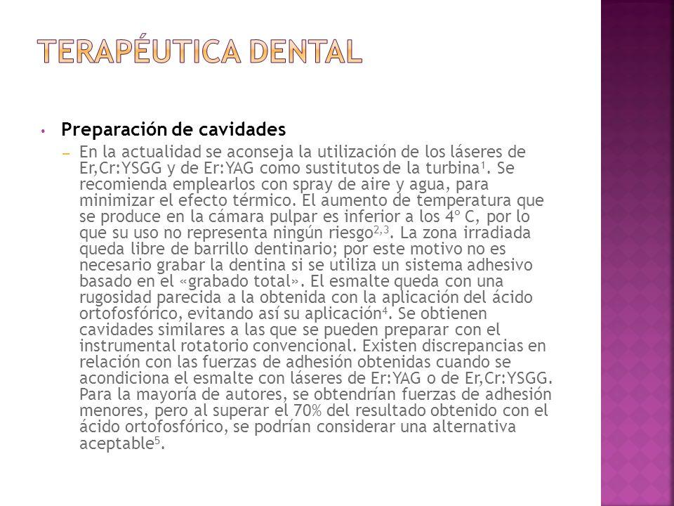 Terapéutica Dental Preparación de cavidades