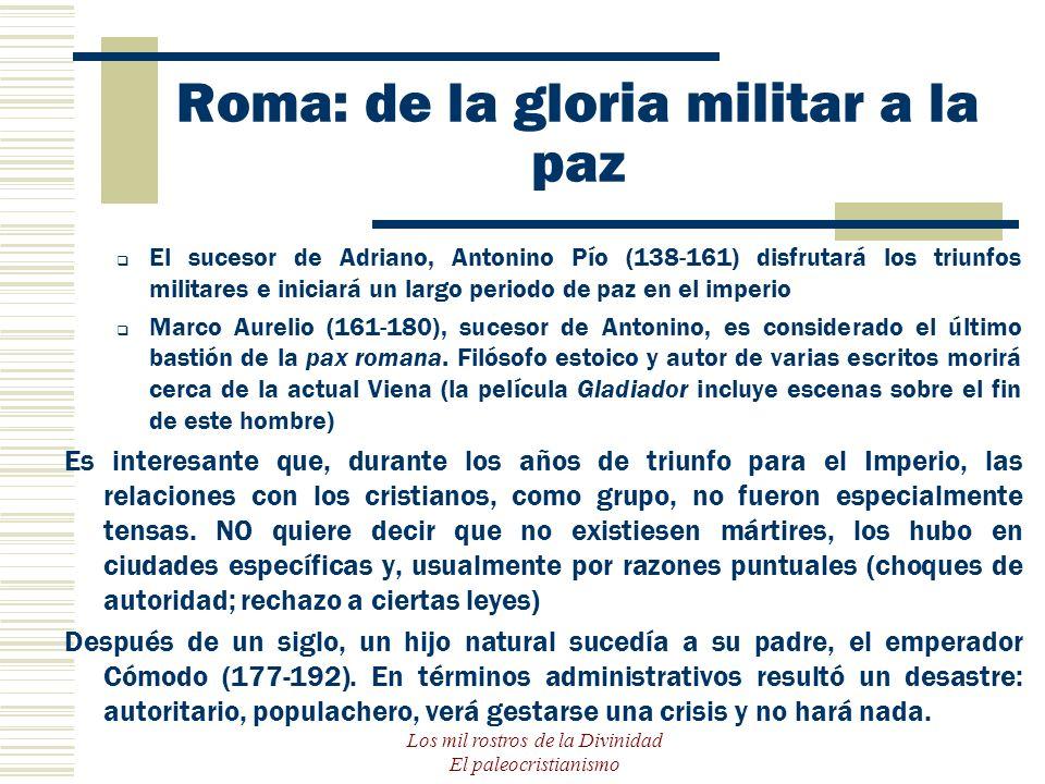 Roma: de la gloria militar a la paz