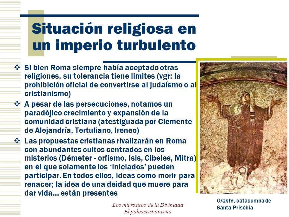 Situación religiosa en un imperio turbulento