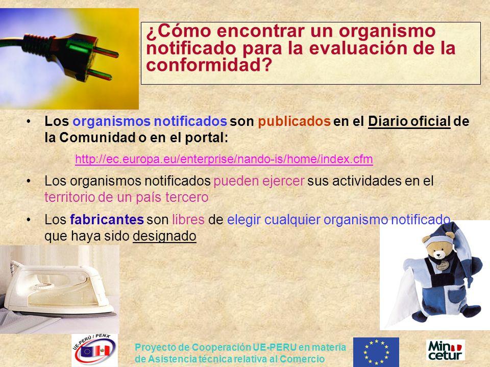 ¿Cómo encontrar un organismo notificado para la evaluación de la conformidad