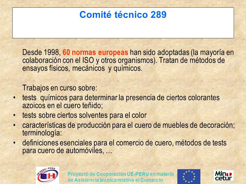Comité técnico 289