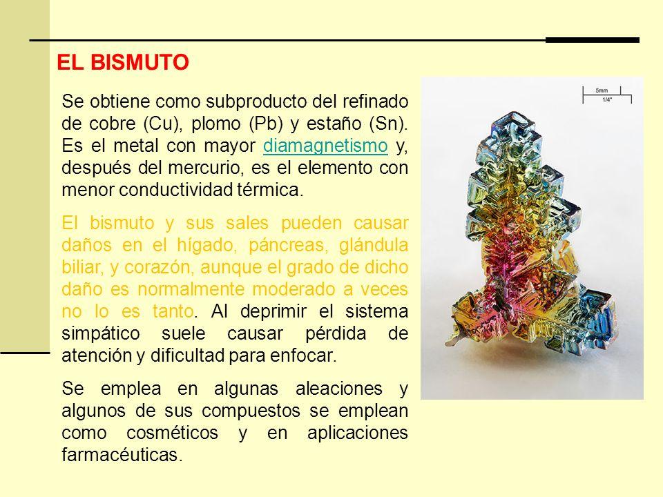 EL BISMUTO