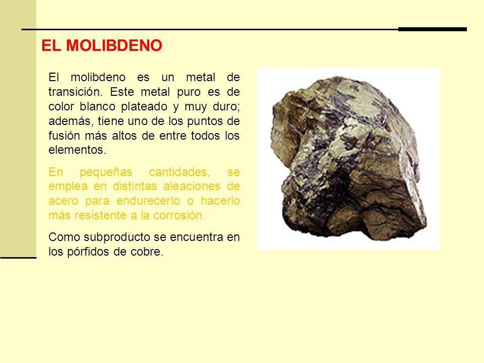 EL MOLIBDENO