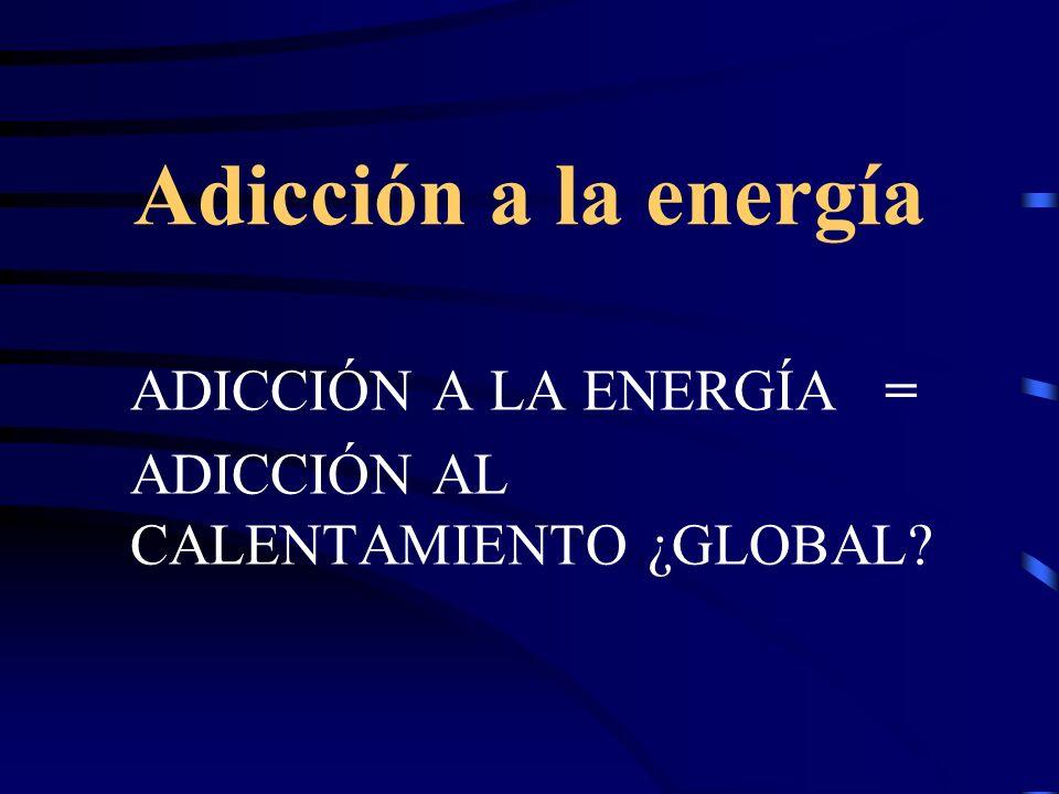 Adicción a la energía ADICCIÓN A LA ENERGÍA =