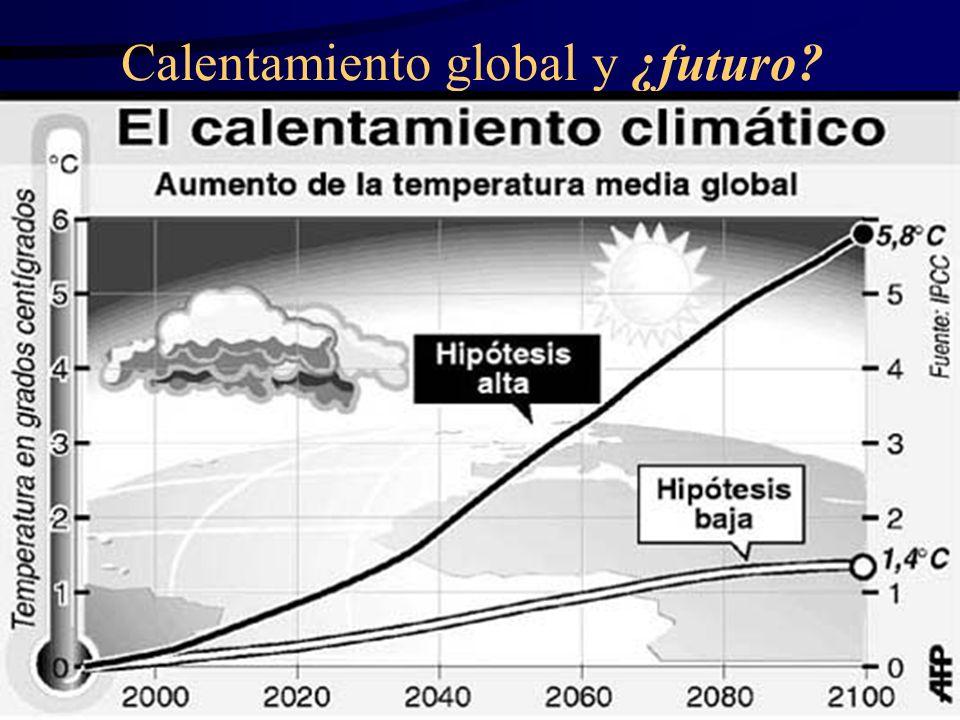 Calentamiento global y ¿futuro