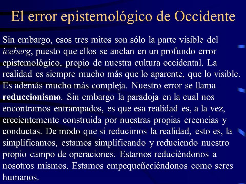 El error epistemológico de Occidente