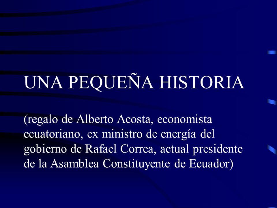 UNA PEQUEÑA HISTORIA