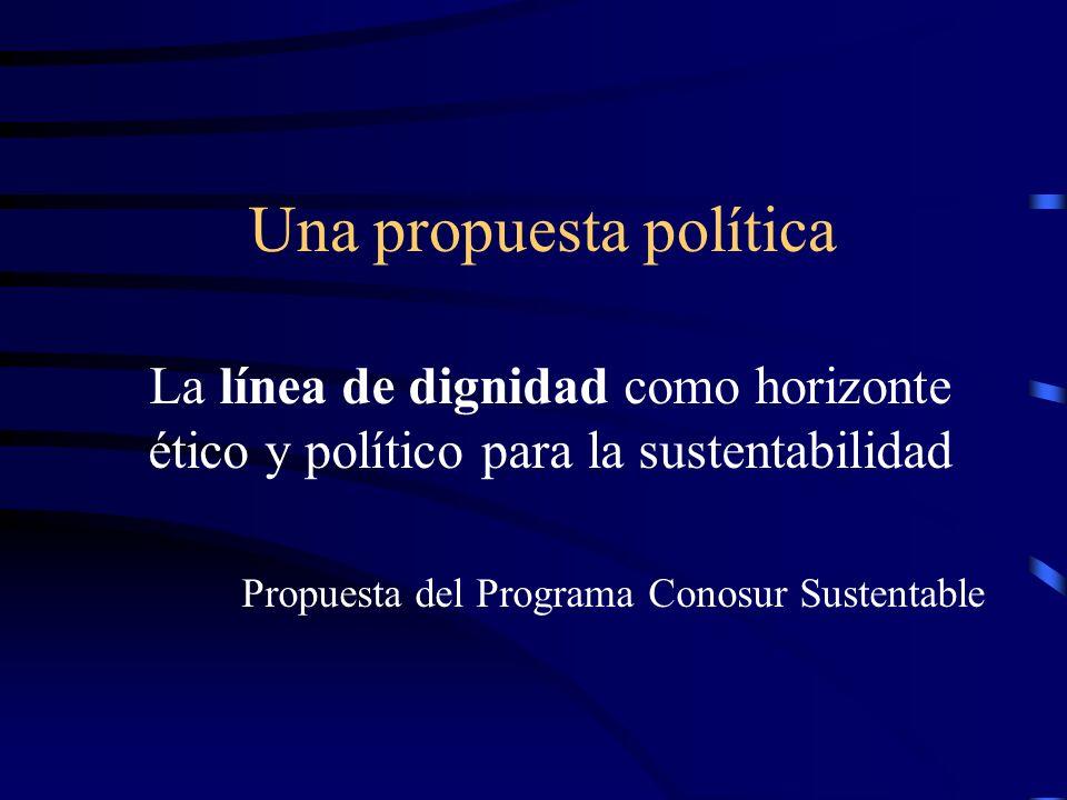 Una propuesta política