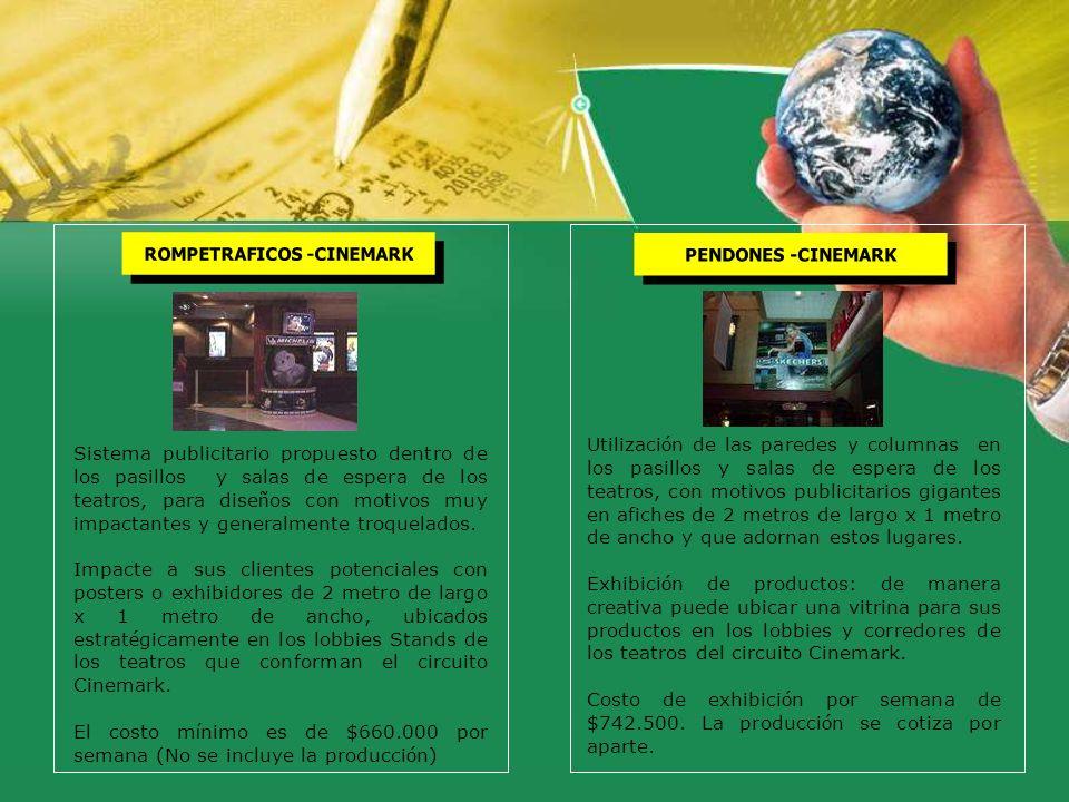 ROMPETRAFICOS -CINEMARK