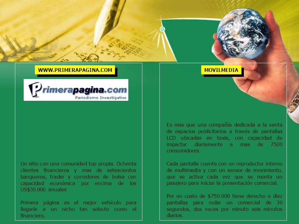 WWW.PRIMERAPAGINA.COM MOVILMEDIA.