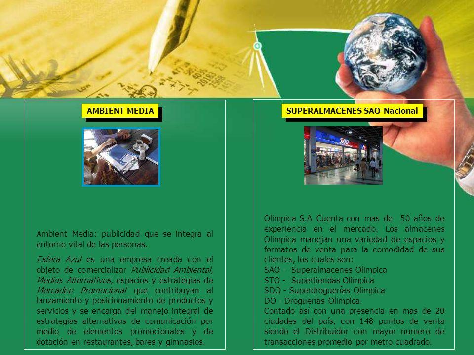 SAO - Superalmacenes Olimpica STO - Supertiendas Olimpica