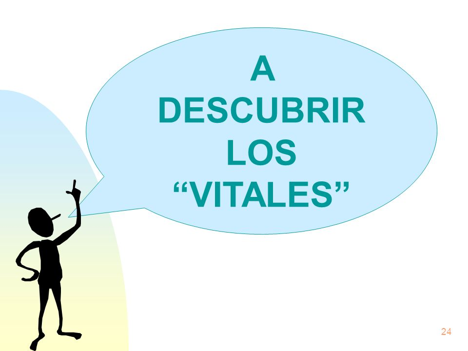 A DESCUBRIR LOS VITALES