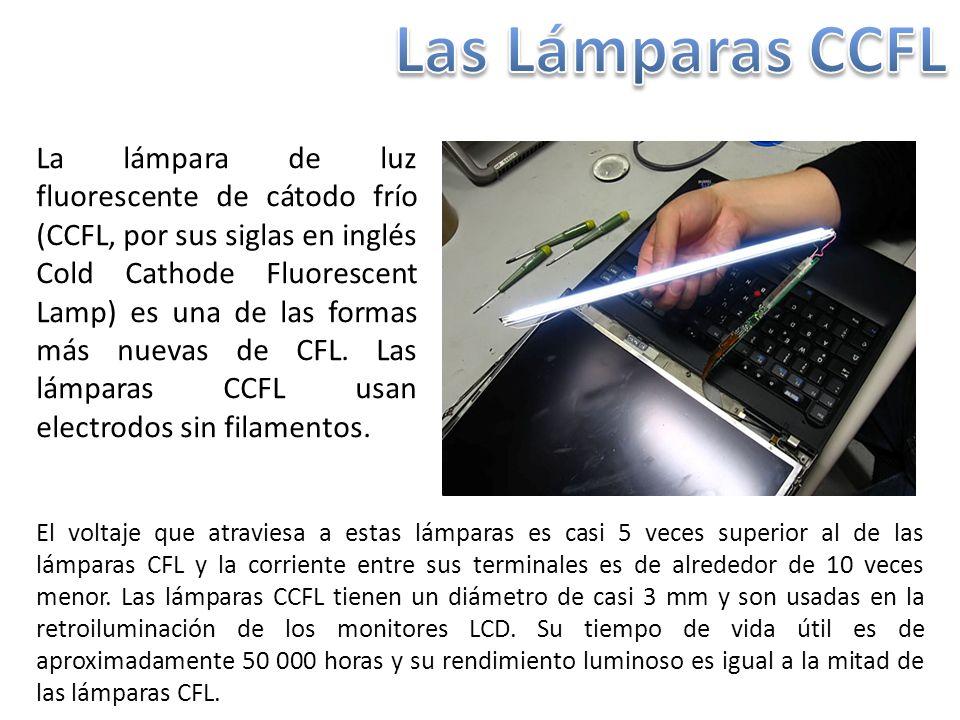 Las Lámparas CCFL