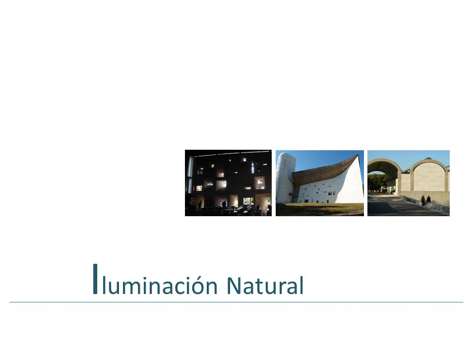 Iluminación Natural