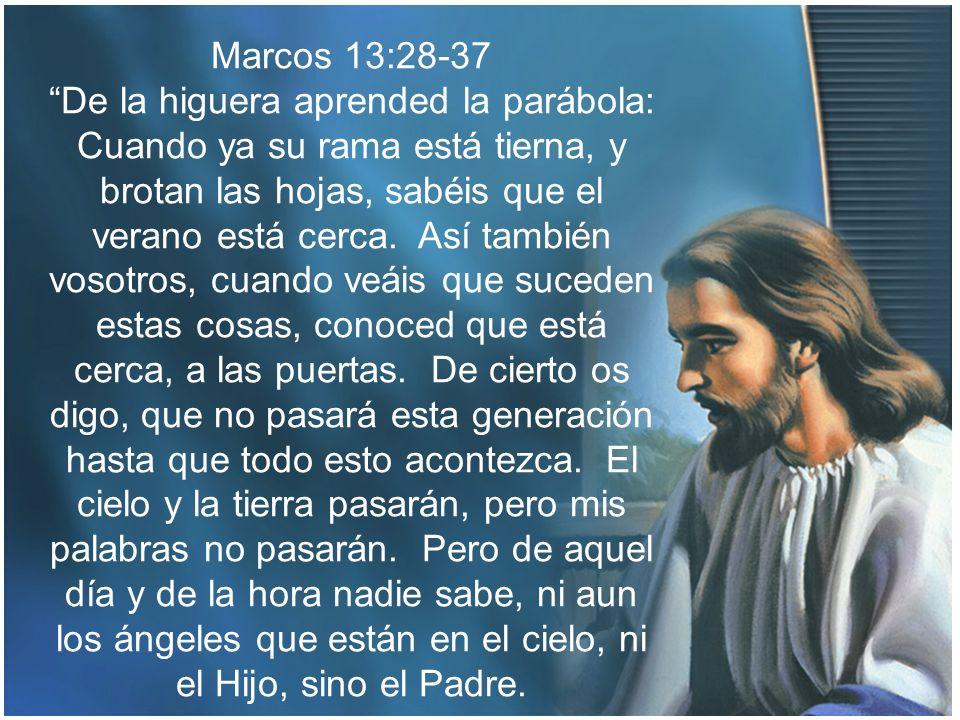 Marcos 13:28-37