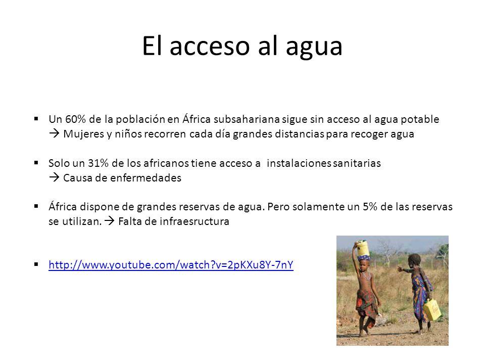 El acceso al agua