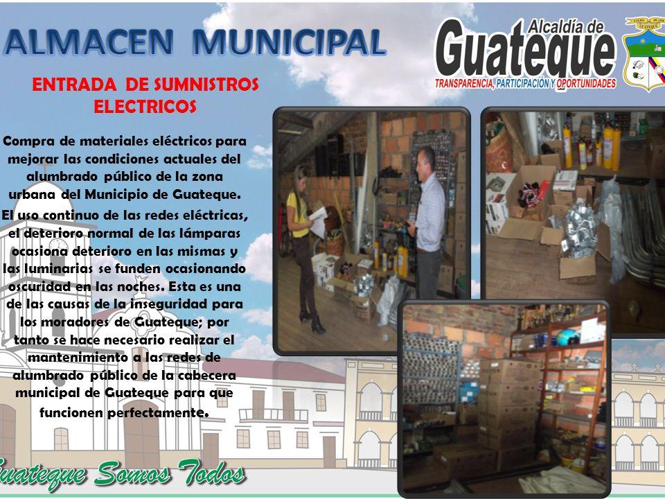 ENTRADA DE SUMNISTROS ELECTRICOS