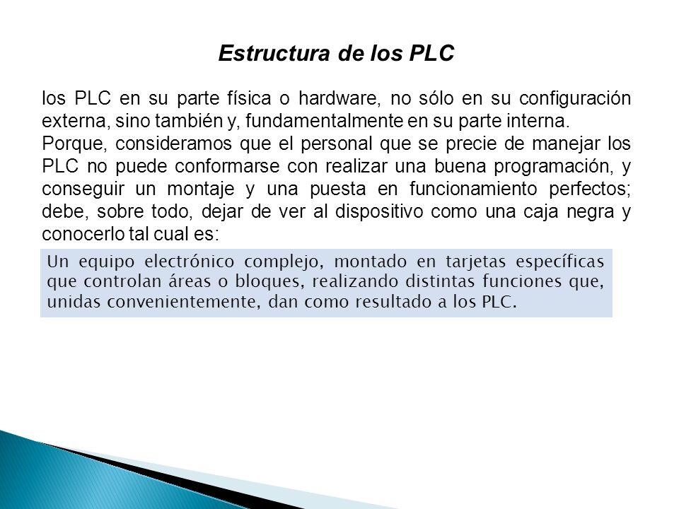Estructura de los PLC