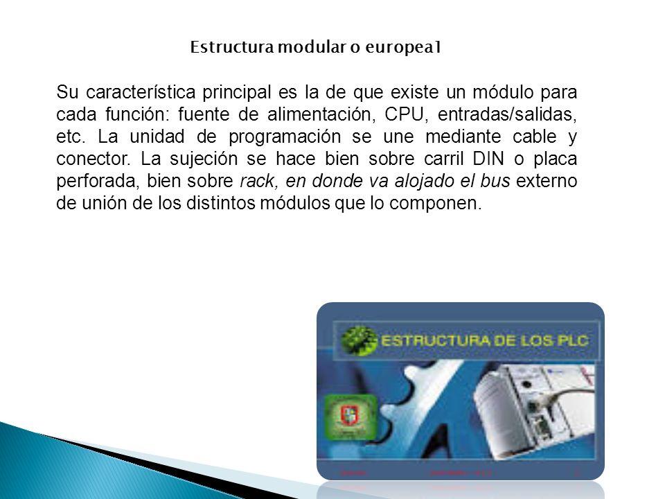 Estructura modular o europea1