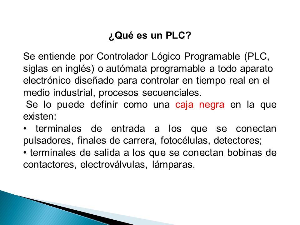 ¿Qué es un PLC