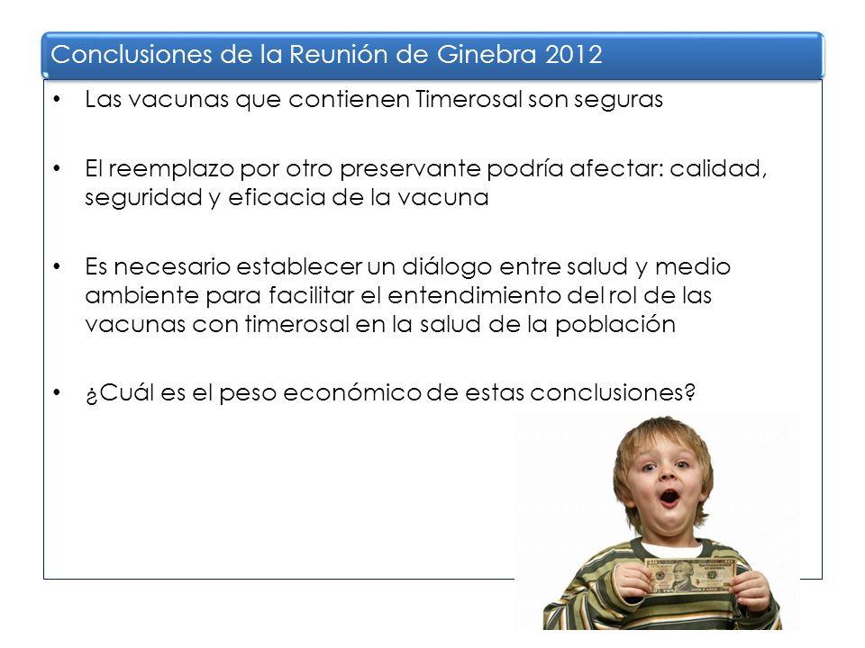 Conclusiones de la Reunión de Ginebra 2012