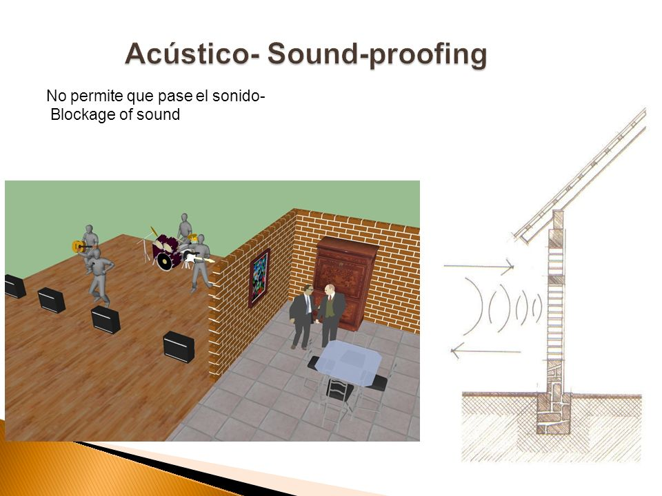 Acústico- Sound-proofing